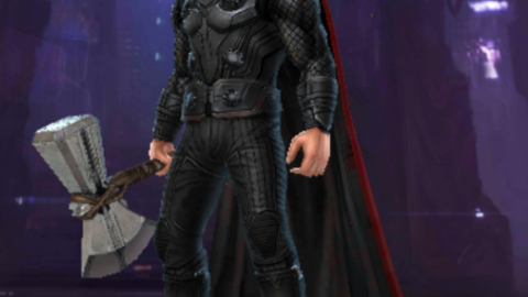 Marvel Future Fight : Thor Infinity War(iw) uniform VS Ragnarok uniform